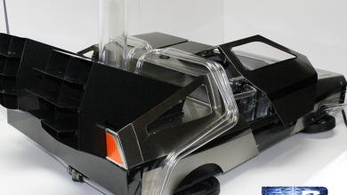 Photo of DeLorean Casemod by Marc Molella