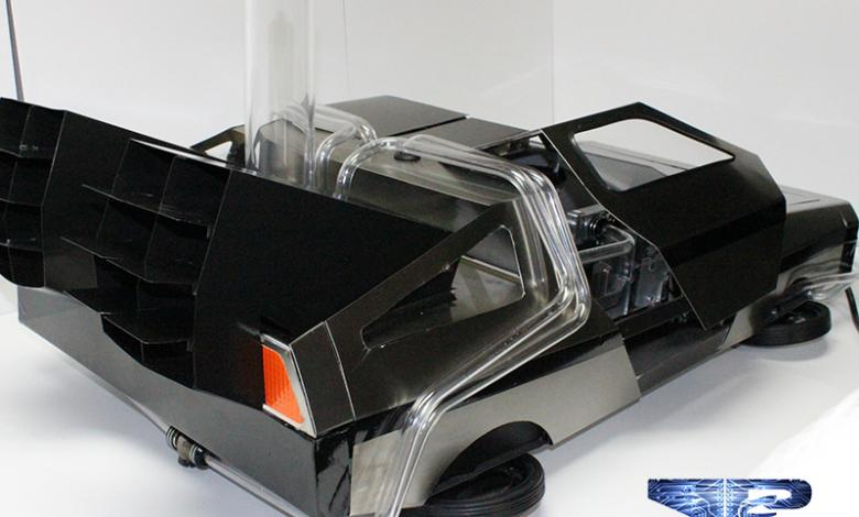 Photo of DeLorean Casemod by Marc Molella