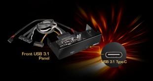 Front USB 3.1 Panel