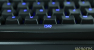 Closeup spacebar lit