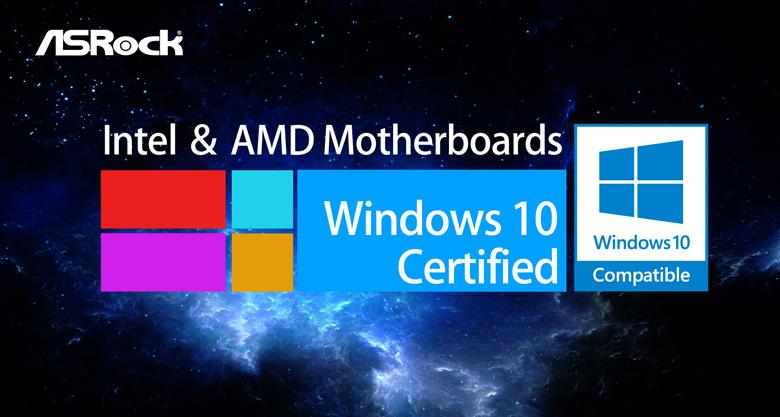 Photo of ASRock Motherboards are Windows 10 Ready