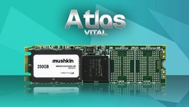 Mushkin Launches New ATLAS VITAL Family of Solid-State Drives 2280, atlas vital, m.2, Mushkin, SSD 4
