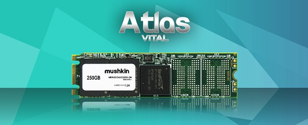 Photo of Mushkin Launches New ATLAS VITAL Family of Solid-State Drives