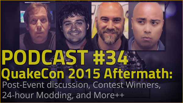 Photo of Podcast #34 – QuakeCon 2015 Aftermath
