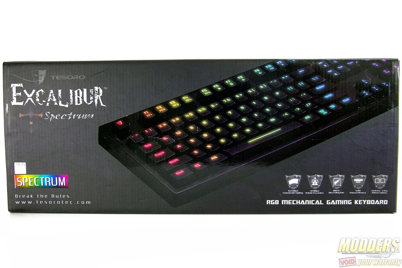 Tesoro Excalibur Spectrum Keyboard Review: Fun Fury of Fancy Fingering exclibur, kailh, Keyboard, rgb, Tesoro 1