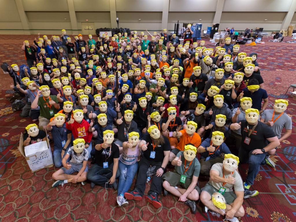 volunteers for Quakecon