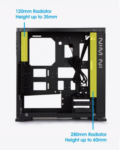 In Win Announces Mid-tower 805 ATX Chassis aluminum, anodized, Case, InWin, Mid Tower, tempered 11