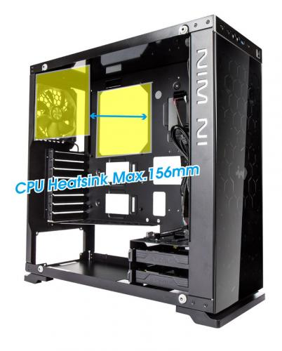 In Win Announces Mid-tower 805 ATX Chassis aluminum, anodized, Case, InWin, Mid Tower, tempered 10