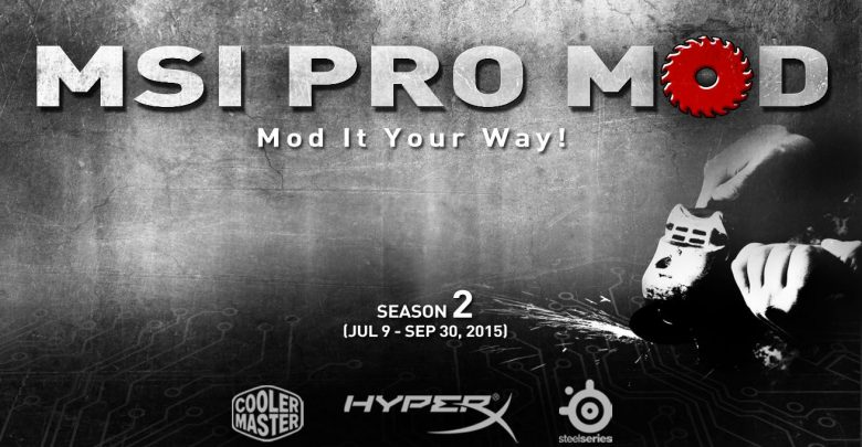 Photo of MSI PRO-MOD Competition Season 2
