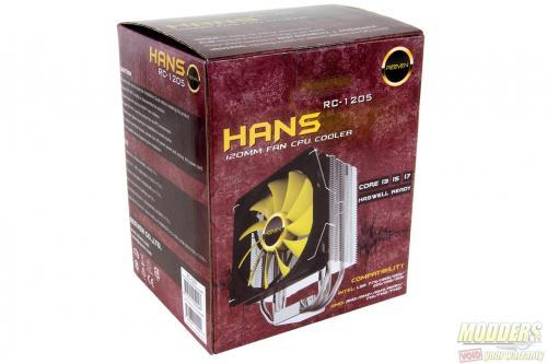 Reeven Hans CPU Cooler Review: High-End Quality, Mainstream Price 120mm, CPU Cooler, Fan, heatsink, reeven, Tower 2