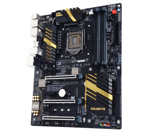GIGABYTE Unveils the Z170X-UD5 TH World's First Intel® Thunderbolt™ 3 Certified Gigabyte, Motherboard, thunderbolt, ud5, z170x