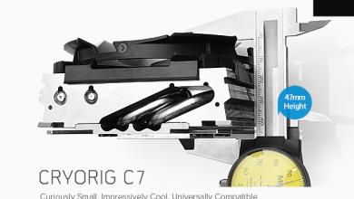 Photo of Cryorig Releases C7 47mm Tall Compact Cooler