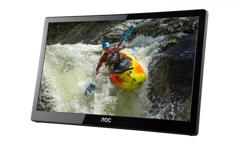 Photo of 16″ E1659FUWX-PRO 1080p USB Monitor from AoC Now Available