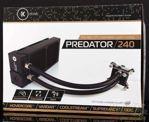 EKWB EK-XLC Predator 240 All-In-One CPU Liquid Cooling Unit Review AIO, all in one, EK, EKWB, overclocking, vardar, watercooling 2