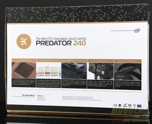 EKWB EK-XLC Predator 240 All-In-One CPU Liquid Cooling Unit Review AIO, all in one, EK, EKWB, overclocking, vardar, watercooling 3