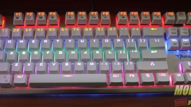 E-Blue Mazer K727 Mechanical Keyboard Review kailh
