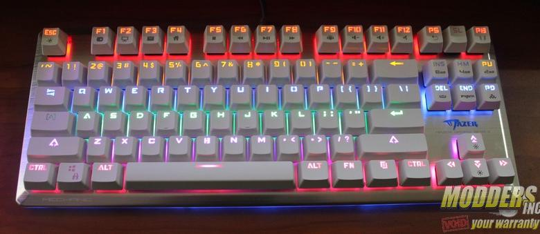 Photo of E-Blue Mazer K727 Mechanical Keyboard Review