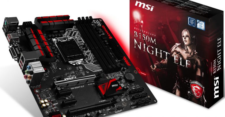 Photo of MSI B150M Night Elf and Z170I GAMING PRO AC Motherboards Unveiled