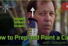 Learn How to Prep and Paint Your PC Case Mod :Video Case Mod, case modding, casemod, garage, GeForce, how to case mod, modding, paint, rattlecan, rustoleum, sanding, spray, spray paint your case, wetsand 17