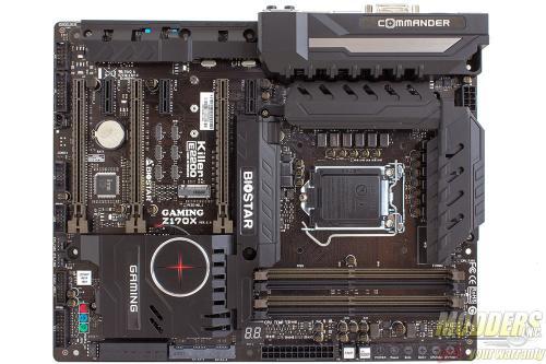 Biostar Z170X Gaming Commander Motherboard Review: A Measure of Control biostar, cmedia, commander, dual-nic, Gaming, Intel, killer, lga1151, realtek, skylake, z170x 8