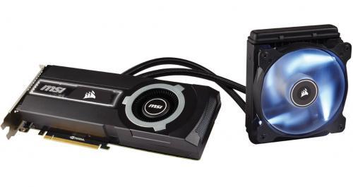 MSI and Corsair Team-up for GTX 980Ti SEA HAWK Video Card Corsair, GeForce, MSI, Nvidia, sea hawk 1