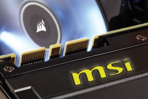 MSI and Corsair Team-up for GTX 980Ti SEA HAWK Video Card Corsair, GeForce, MSI, Nvidia, sea hawk 4