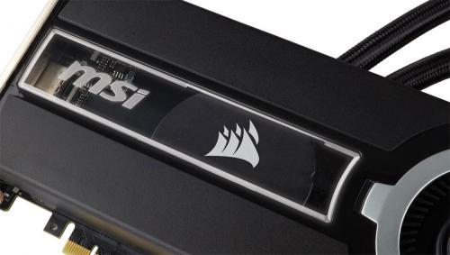 MSI and Corsair Team-up for GTX 980Ti SEA HAWK Video Card Corsair, GeForce, MSI, Nvidia, sea hawk 2
