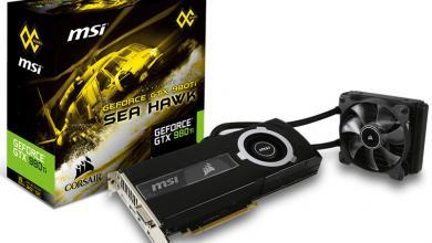 MSI and Corsair Team-up for GTX 980Ti SEA HAWK Video Card sea hawk
