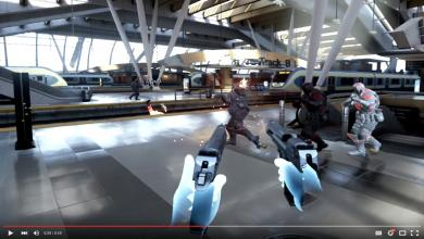 EPIC Games Shows-off New 'Bullet Train' Oculus Touch VR Demo epic games, Oculus, unreal