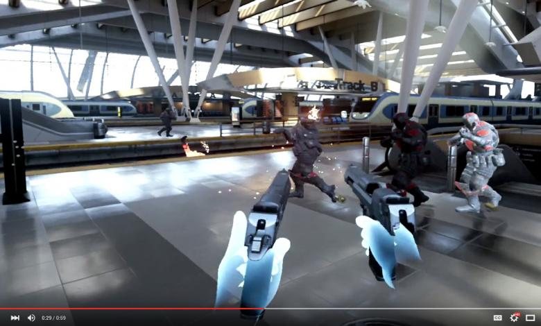 Photo of EPIC Games Shows-off New 'Bullet Train' Oculus Touch VR Demo
