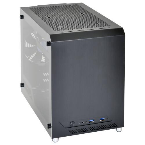 Lian Li Announces PC-Q10WX Mini-ITX Availability in the US aluminium, aluminum, Case, Chassis, itx, Lian Li, pc-q10wx 1