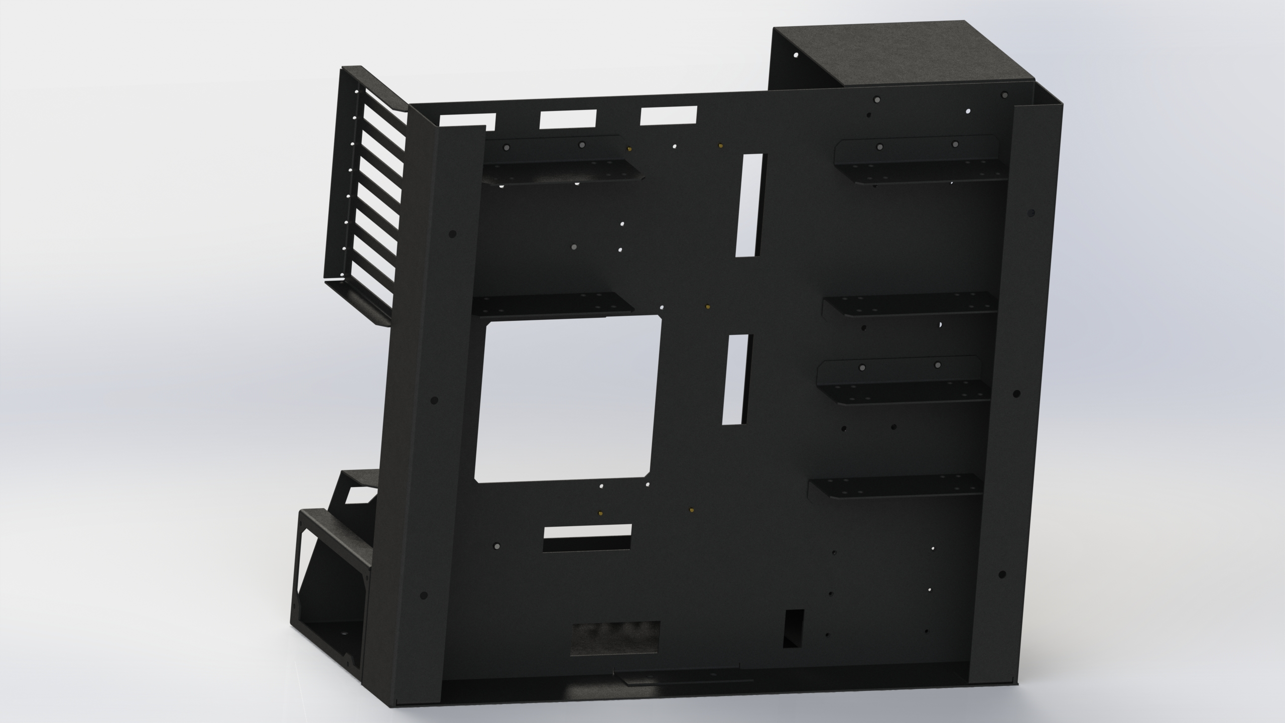 HYDRA Announces NR-01 Open Case Chassis + Bench — Modders-Inc