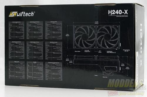 Swiftech H240-X AIO CPU Cooler Review AIO, all in one, helix, overclocking, Swiftech, watercooling 2
