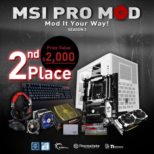 MSI PRO MOD Season 2 Wraps-up, Season 3 Launched Immediately casemod, competition, contest, G.Skill, giveaway, Intel, modding, MSI, pro mod, Thermaltake 2