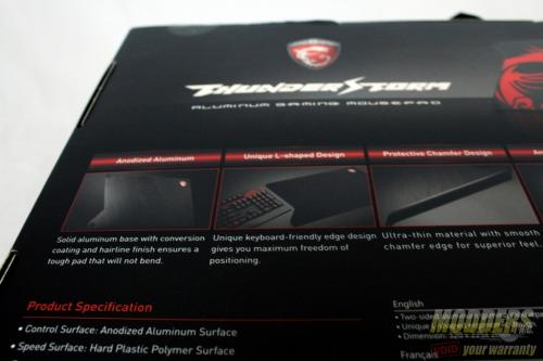 MSI ThunderStorm Review: Your Desk on Top of Desk Gaming, MousePad, MSI, thunderstorm 5
