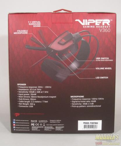 Patriot Viper V360 Headset Review: A Promising Start Gaming Headset, Patriot Memory, Viper V360 2