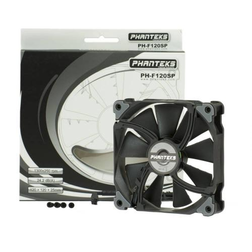 Phanteks Premium MP and SP Series Fans Launched black, cooling, f120mp, f140mp, f140sp, f200sp, Fans, phantkes 5