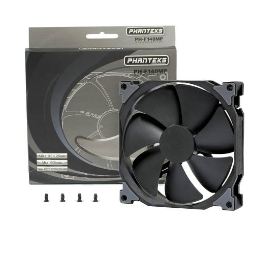 Phanteks Premium MP and SP Series Fans Launched black, cooling, f120mp, f140mp, f140sp, f200sp, Fans, phantkes 1