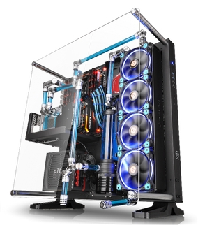 Thermaltake Core P5 ATX Open Frame Panoramic Viewing Gaming Computer Chassis Provides Panoramic Viewing(1)