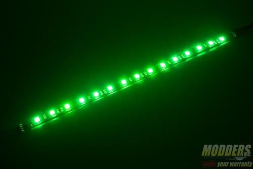 Bitfenix Alchemy 2.0 Magnetic LED Strip Review: Modding Made Even Easier alchemy2green