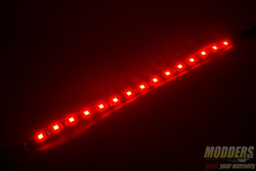 Bitfenix Alchemy 2.0 Magnetic LED Strip Review: Modding Made Even Easier alchemy2red