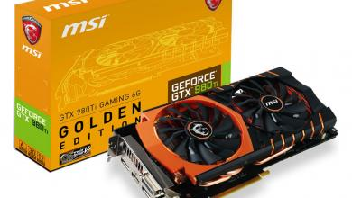 GTX 980Ti Gets the MSI Gaming Golden Edition Treatment golden edition