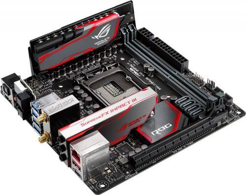 ASUS Announces RoG Maximus VIII Impact Mini-ITX Motherboard ASUS, maximus viii impact, Mini-ITX, Motherboard, skylake, z170 1
