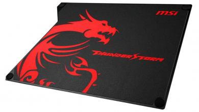 MSI ThunderStorm Review: Your Desk on Top of Desk Gaming, MousePad, MSI, thunderstorm 3