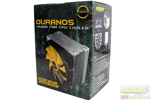 Reeven Ouranos CPU Cooler Review: Size + Smarts 140mm, CPU Cooler, heatsink, ouranos, reeven 1