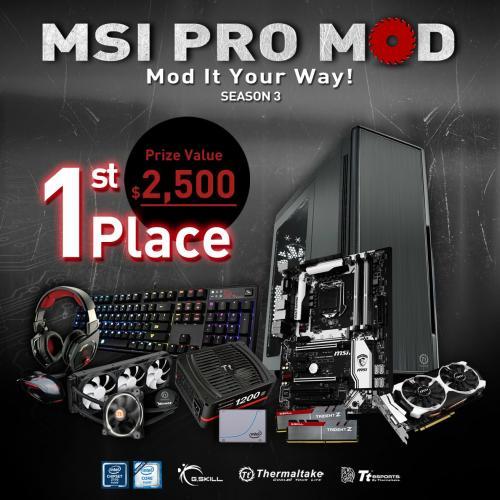 MSI PRO MOD Season 2 Wraps-up, Season 3 Launched Immediately casemod, competition, contest, G.Skill, giveaway, Intel, modding, MSI, pro mod, Thermaltake 1