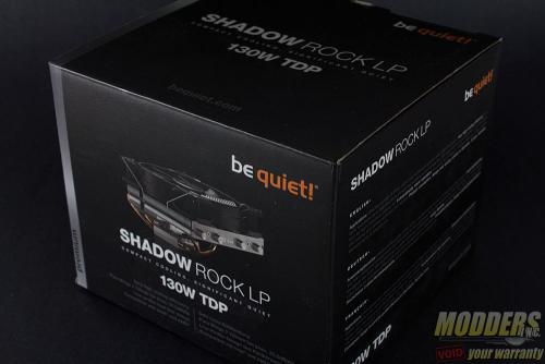 Be Quiet Shadow Rock LP Packaging