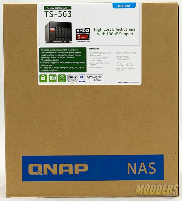 QNAP TS-563 Network Attached Storage Review — Modders-Inc