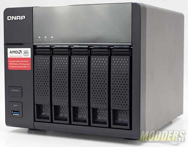 Photo of QNAP TS-563 Network Attached Storage Review
