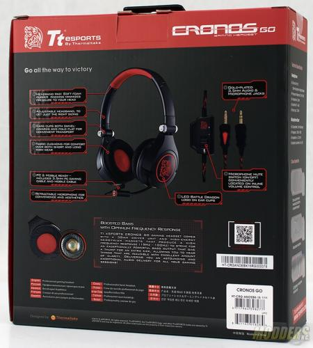 ThermalTake Cronos Go Gaming Headset Review Headset, led, on ear, thermatake, TteSports 2